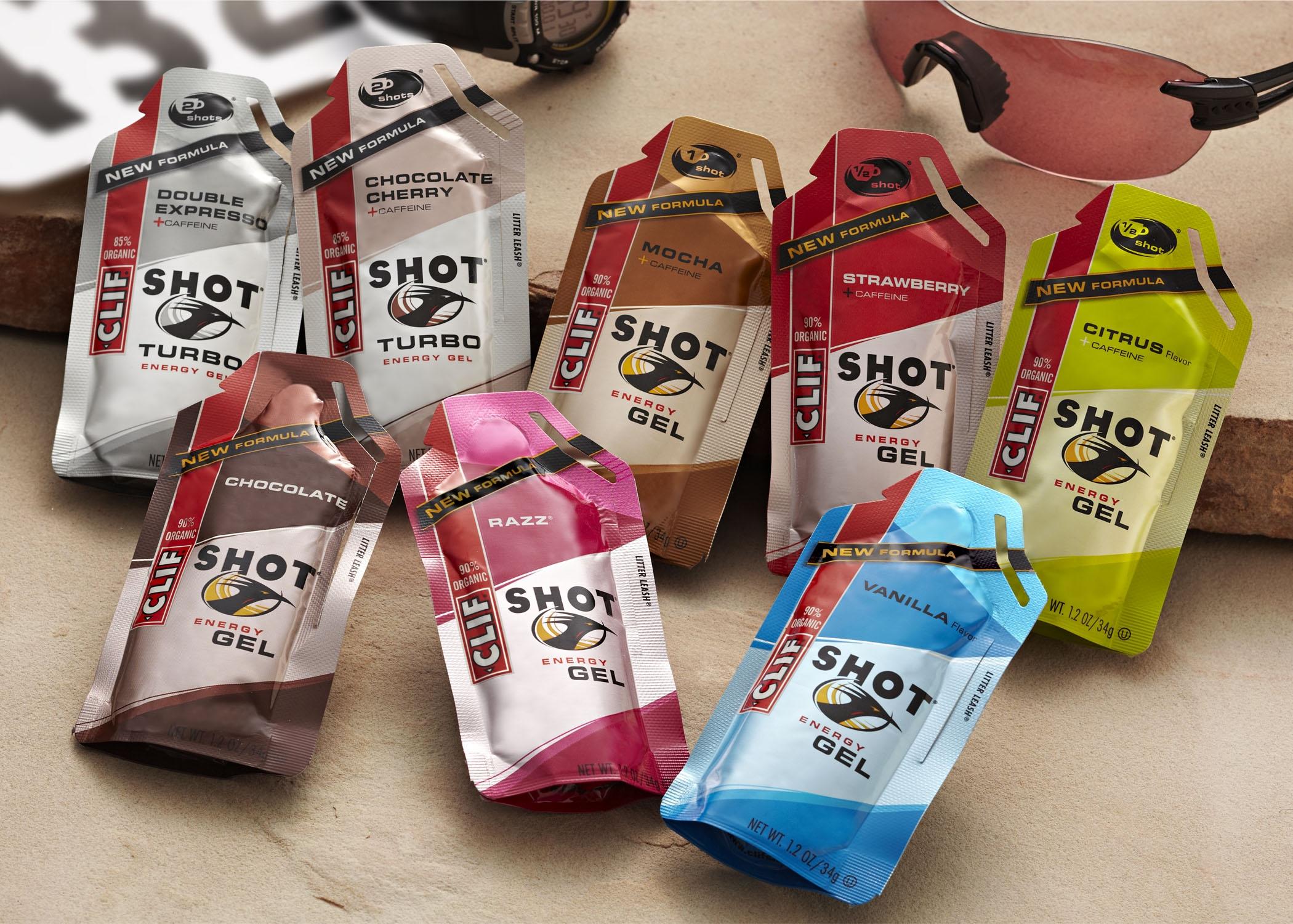 Clif energy gel shots